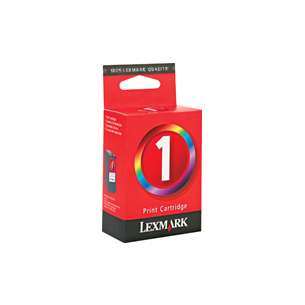 Original Lexmark 18C0781 (#1 ink) inkjet cartridge - color cartridge
