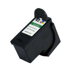 Remanufactured Lexmark 18Y0143 (#43XL ink) inkjet cartridge - high capacity color