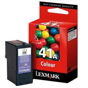 Original Lexmark 18Y0341 (#41A ink) inkjet cartridge - color cartridge