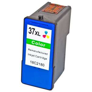 Remanufactured Lexmark 18C2180 (#37XL ink) inkjet cartridge - high capacity color