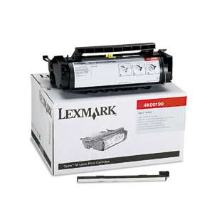 Original Lexmark 4K00199 toner cartridge - black cartridge