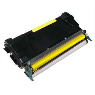 Remanufactured Lexmark C5222YS toner cartridge - yellow