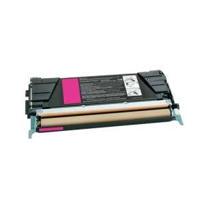 Remanufactured Lexmark C734A2MG toner cartridge - magenta
