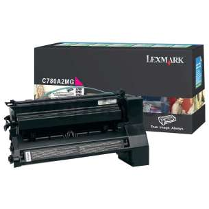 Original Lexmark C780A2MG toner cartridge - magenta
