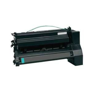 Remanufactured Lexmark C780H2CG toner cartridge - high capacity cyan