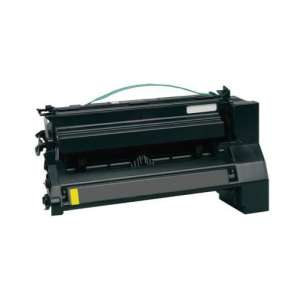 Remanufactured Lexmark C780H2YG toner cartridge - high capacity yellow