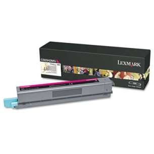 Original Lexmark C925H2MG toner cartridge - high capacity black