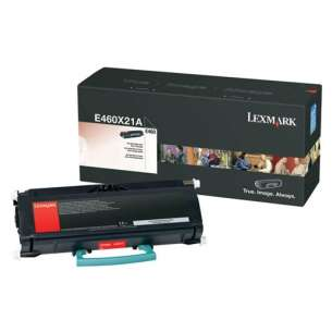 Original Lexmark E460X21A toner cartridge - extra high capacity black