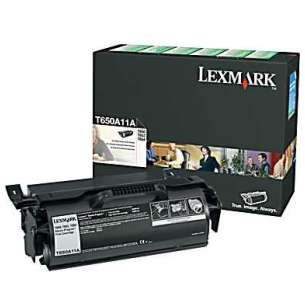 Original Lexmark T650A11A toner cartridge - black cartridge