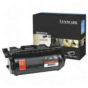 Original Lexmark X644H21A toner cartridge - black cartridge
