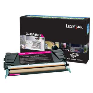 Original Lexmark X746A4MG toner cartridge - government TAA magenta