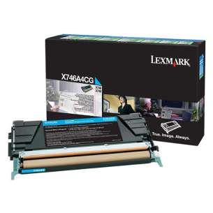 Original Lexmark X748H1MG toner cartridge - high capacity magenta