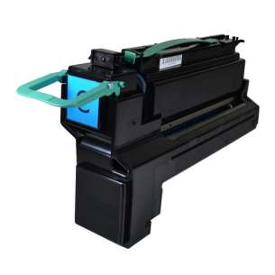 Compatible for Lexmark X792X2CG cartridge - extra high yield cyan