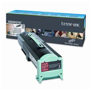 Original Lexmark X850H21G toner cartridge - high capacity black