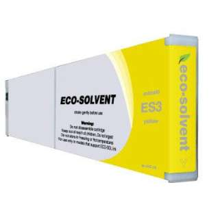 Compatible ink cartridge to replace Mimaki ES3Y - yellow