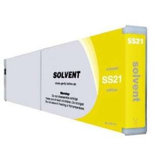 Compatible ink cartridge to replace Mimaki SS21Y - yellow