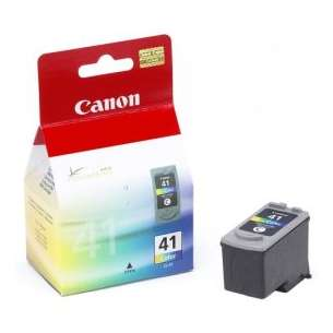 Genuine Brand Canon CL-41 inkjet cartridge - color cartridge