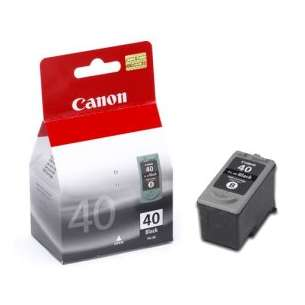 Genuine Brand Canon PG-40 inkjet cartridge - pigmented black