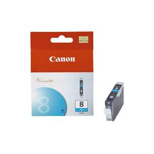 Genuine Brand Canon CLI-8C inkjet cartridge - cyan