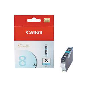 Genuine Brand Canon CLI-8PC inkjet cartridge - photo cyan