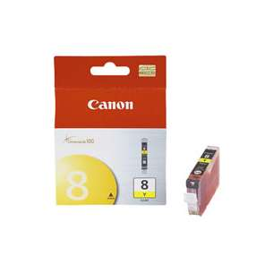 Genuine Brand Canon CLI-8Y inkjet cartridge - yellow