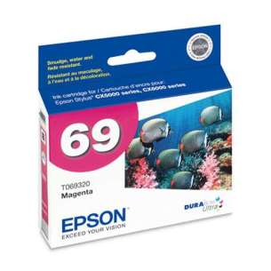Original Epson T069320 (69 ink) inkjet cartridge - magenta