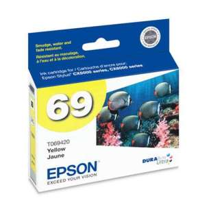 Original Epson T069420 (69 ink) inkjet cartridge - yellow