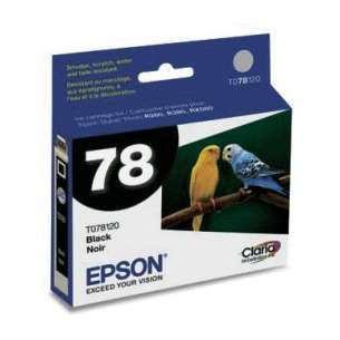 Original Epson T078120 (78 ink) inkjet cartridge - black cartridge