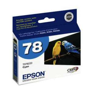 Original Epson T078220 (78 ink) inkjet cartridge - cyan