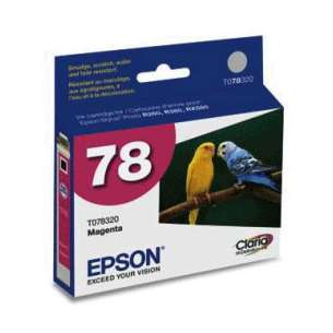 Original Epson T078320 (78 ink) inkjet cartridge - magenta