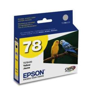Original Epson T078420 (78 ink) inkjet cartridge - yellow