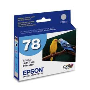 Original Epson T078520 (78 ink) inkjet cartridge - light cyan