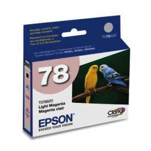 Original Epson T078620 (78 ink) inkjet cartridge - light magenta