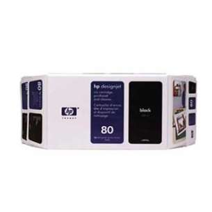 Original Hewlett Packard (HP) 80XL inkjet cartridge - black cartridge