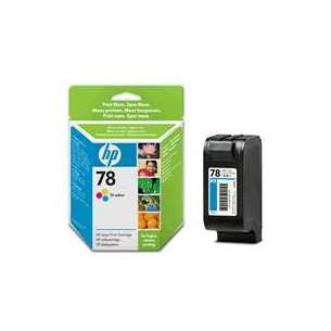 Original Hewlett Packard (HP) C6578DN (HP 78 ink) inkjet cartridge - color cartridge