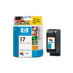 Original Hewlett Packard (HP) C6625an (HP 17 ink) inkjet cartridge - color cartridge