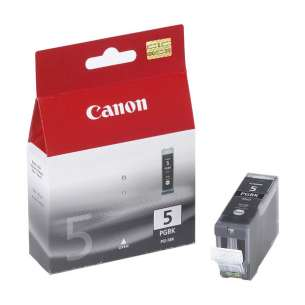 Genuine Brand Canon PGI-5 inkjet cartridge - pigmented black