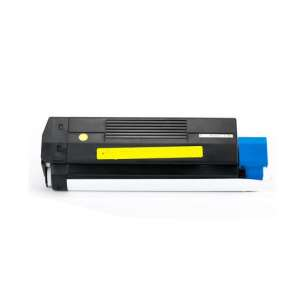 Compatible Okidata 42127401 toner cartridge - high capacity yellow