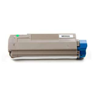 Compatible Okidata 43324476 toner cartridge - cyan