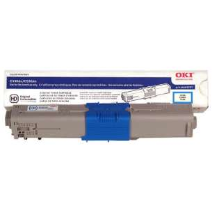 Original Okidata 44469703 (Type C17) toner cartridge - cyan