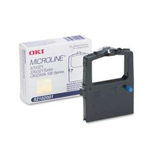 Compatible Atlantic Inkjet Canada Okidata 52102001 ribbon cartridge - black