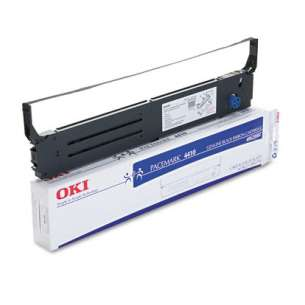 OEM Okidata 40629302 Black Original Ink Ribbon Cartridge