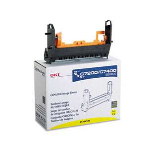 Original Okidata 41304105 toner drum - yellow