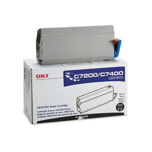 Original Okidata 41304208 toner cartridge - black cartridge