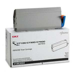 Original Okidata 41963004 toner cartridge - black cartridge