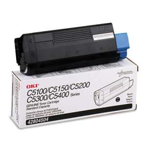 Original Okidata 42804504 toner cartridge - black cartridge