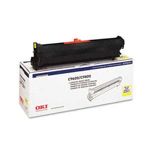 Original Okidata 42918101 toner drum - yellow