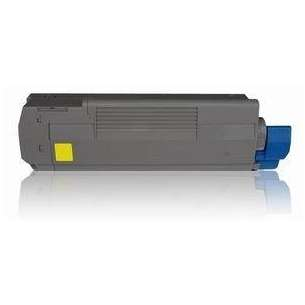 Compatible Okidata 43324466 toner cartridge - yellow