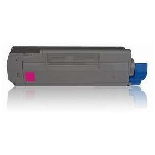 Compatible Okidata 43324467 toner cartridge - magenta