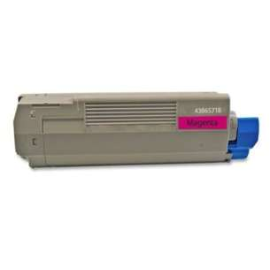 Compatible Okidata 43865718 toner cartridge - magenta